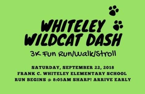 Whiteley Wildcat Dash3K Fun Run (1)